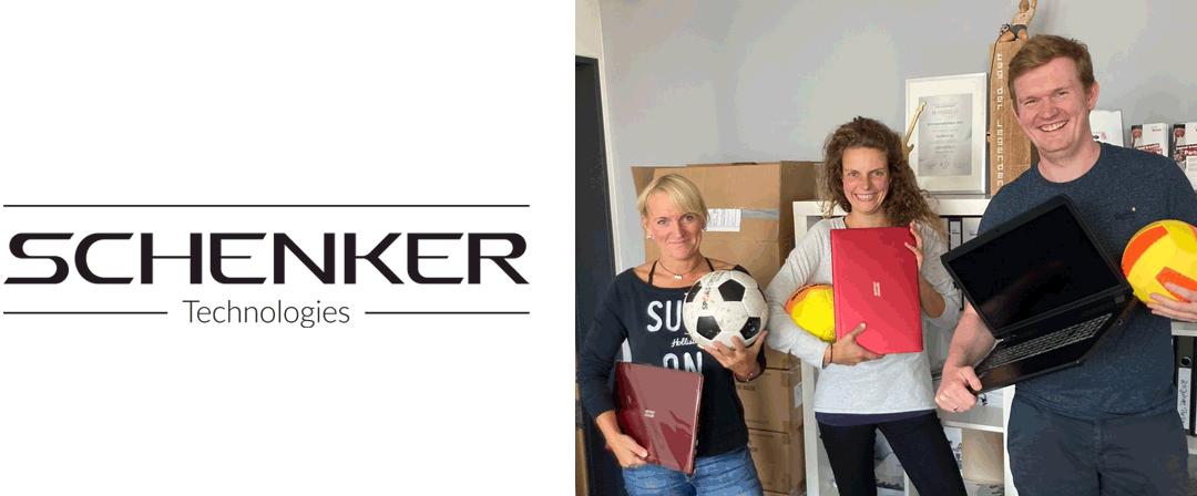 Schenker Technologies spendet für NestWerk e.v.